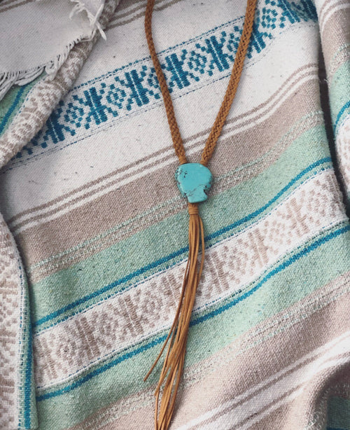 Stapleton Tassel Necklace