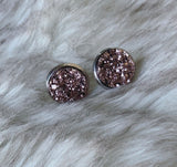 Princess Sparkle Druzy Earrings