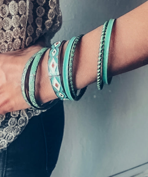 Turquoise Bangle Set