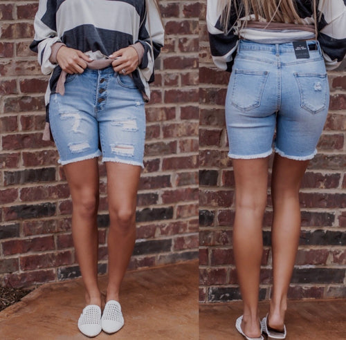 Clint Denim Shorts