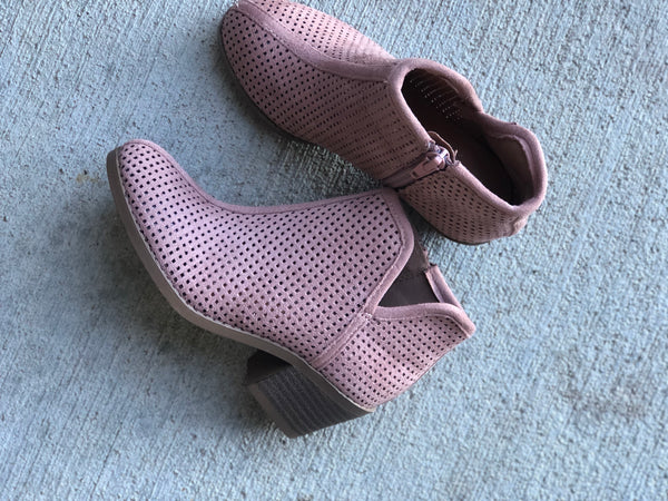 Children's Blush Booties
