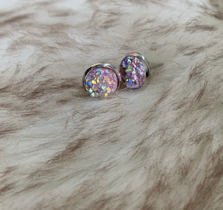 Faith Belle Druzy Earrings