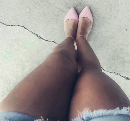 The Nicole Pink Flats
