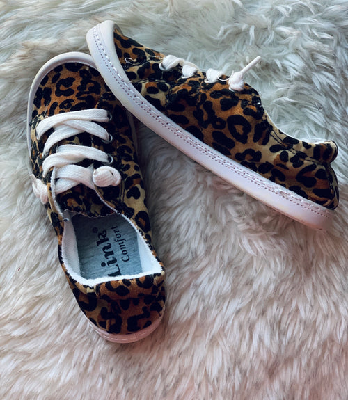 Children's Cheetah Sneakers