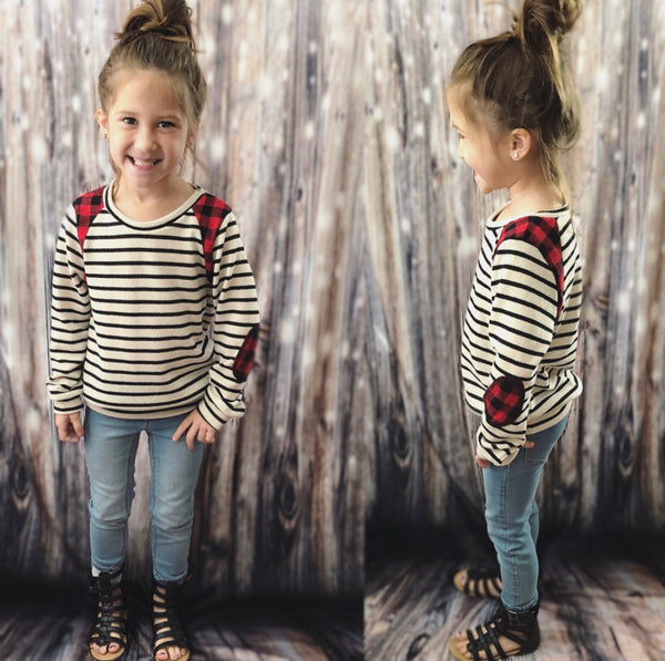 Toddler/ Girl Size Striped Top