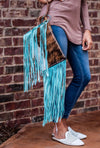 South Bend Fringe Wristlet
