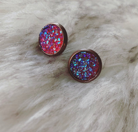 Wasta Druzy Earrings