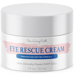 Eye Rescue Cream - Anti Aging Formula for Wrinkles, Dark Circles, Fine Lines, Under Eye Bags & Puffiness