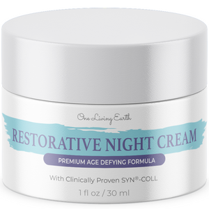Restorative Night Cream for Face - Anti Aging Formula - Skin Renewing Night Cream - Wrinkle Cream for Women and Men