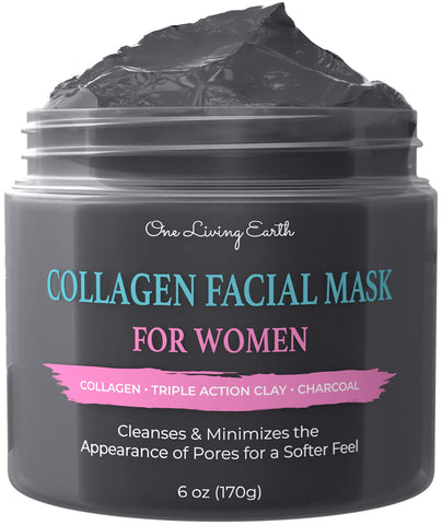 Collagen Facial Mask for Women - 6 OZ