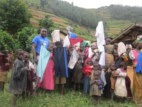Clothes for the Batwa – Community Outreach
