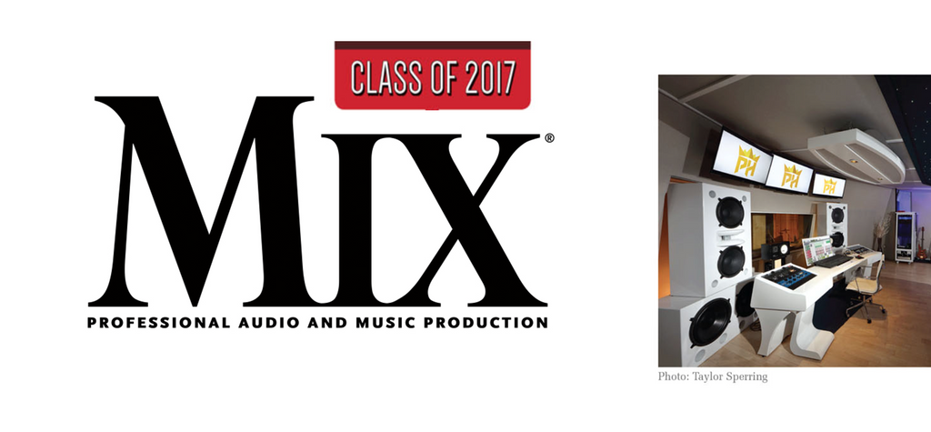Mix Class of '17 highlights new Augspurger equipped studios.