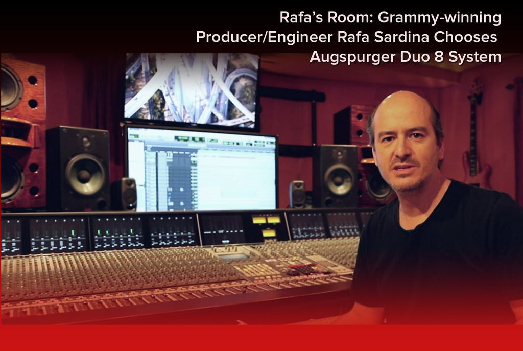 "Rafa Sardina Achieves ""Magical Balance"" with Augspurger Duo 8 MiniMain System"