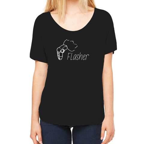 "Photog Life ""Flasher"" Slouchy Women's Tee"