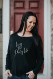 """Living The Photog Life"" Ladies' Long Sleeve Tee"