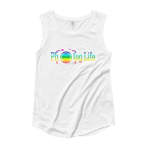 Photog Life Pride Ladies' Cap Sleeve T-Shirt