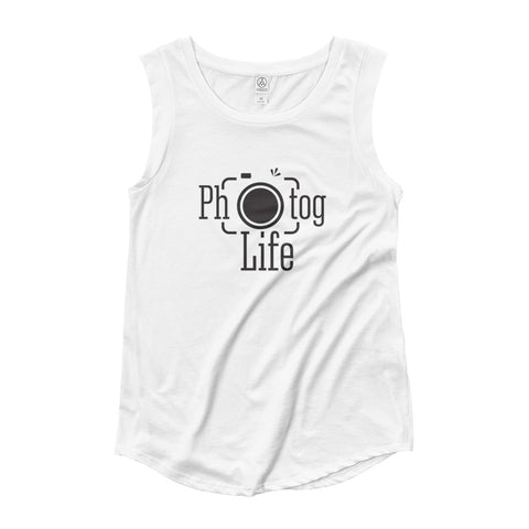 Photog Life Ladies' Cap Sleeve T-Shirt
