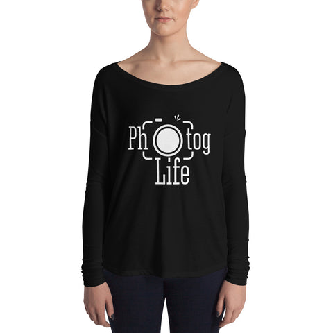 Photog Life Soft Flows  Long Sleeve Tee