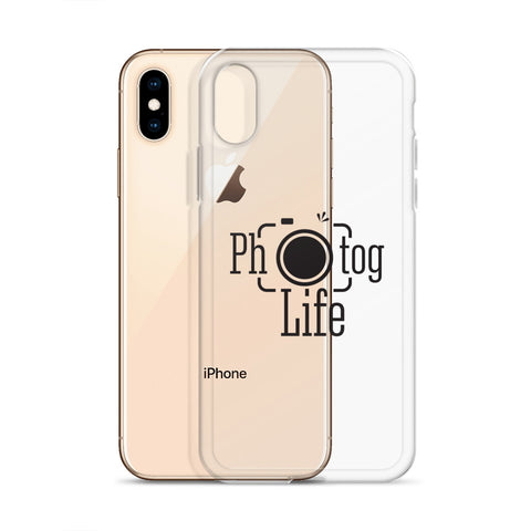 Photog Life Black Logo iPhone Case