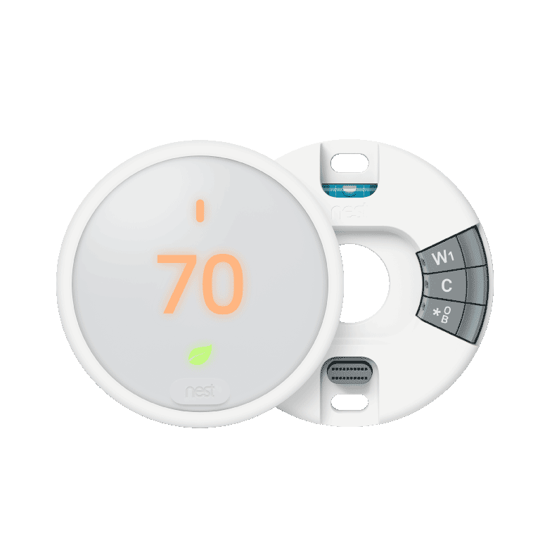 Nest Thermostat E Installation with Backplate