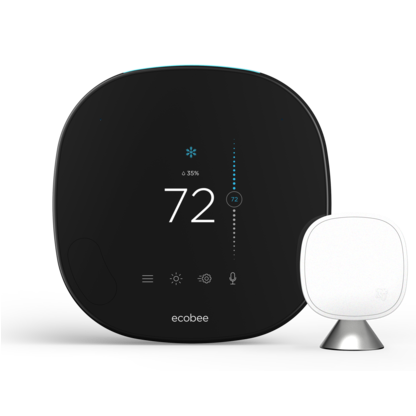 ecobee Smart Thermostat with voice control image 11405221429327