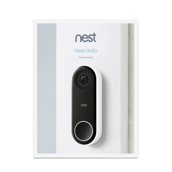 Google Nest Hello Video Doorbell image 3682894544969