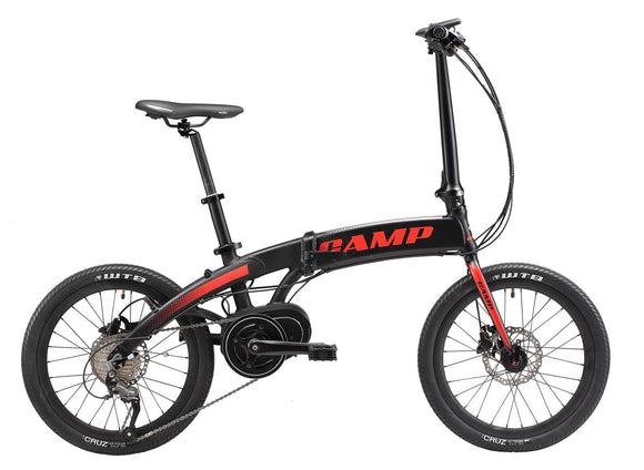 Camp Folding E-bike E-Freeway 20""