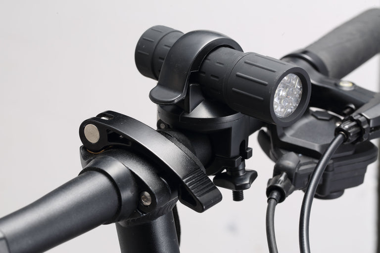 Bicycle front LED light