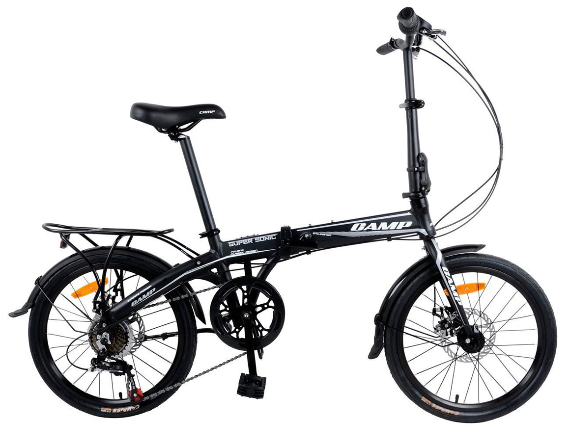 "CAMP SuperSonic 7-Speed Dual Disc Brakes 20"" Wheel Gray/Black"