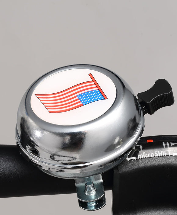 American Flag Rotary Bell