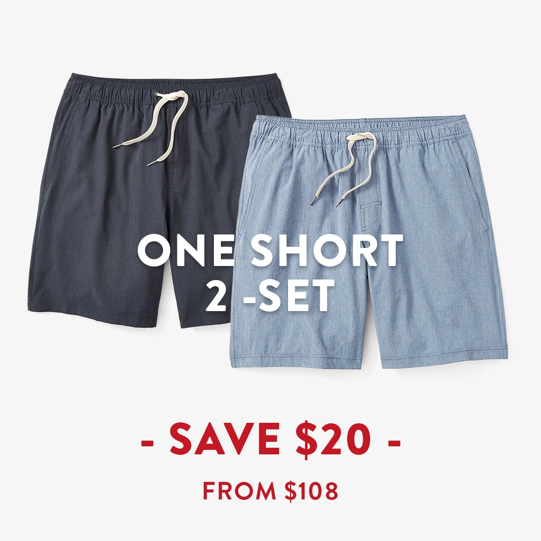 One Short 2 Pack