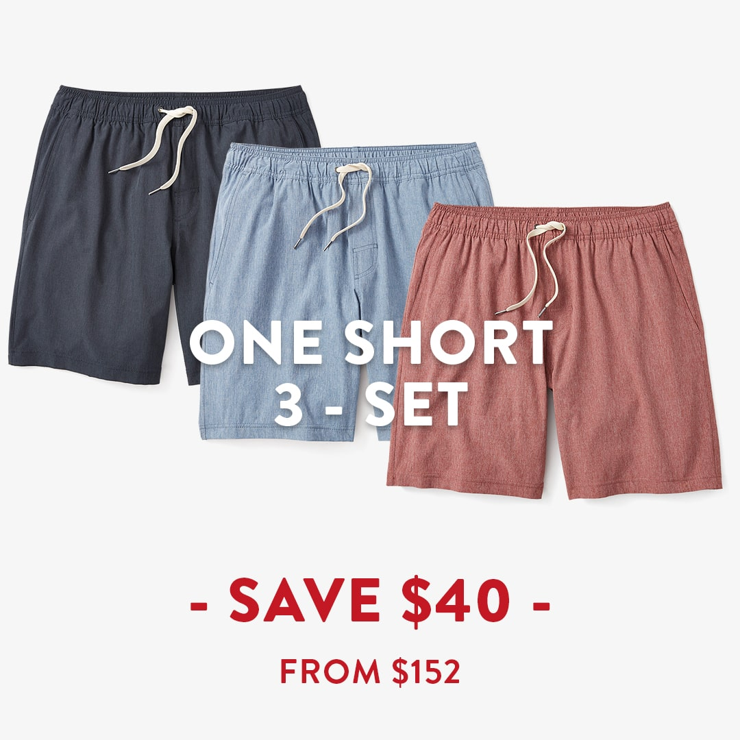 One Short 3 Pack