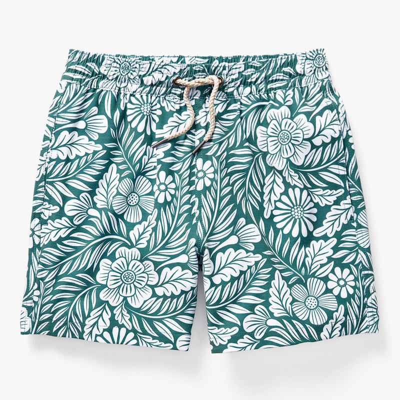 green-floral-kids-bayberry-trunk