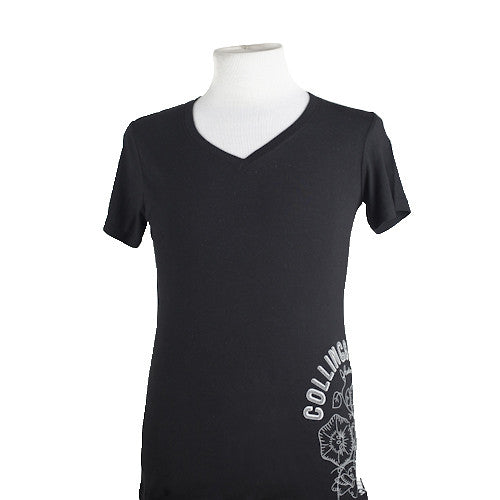 Womens Collings V-Neck T-Shirt