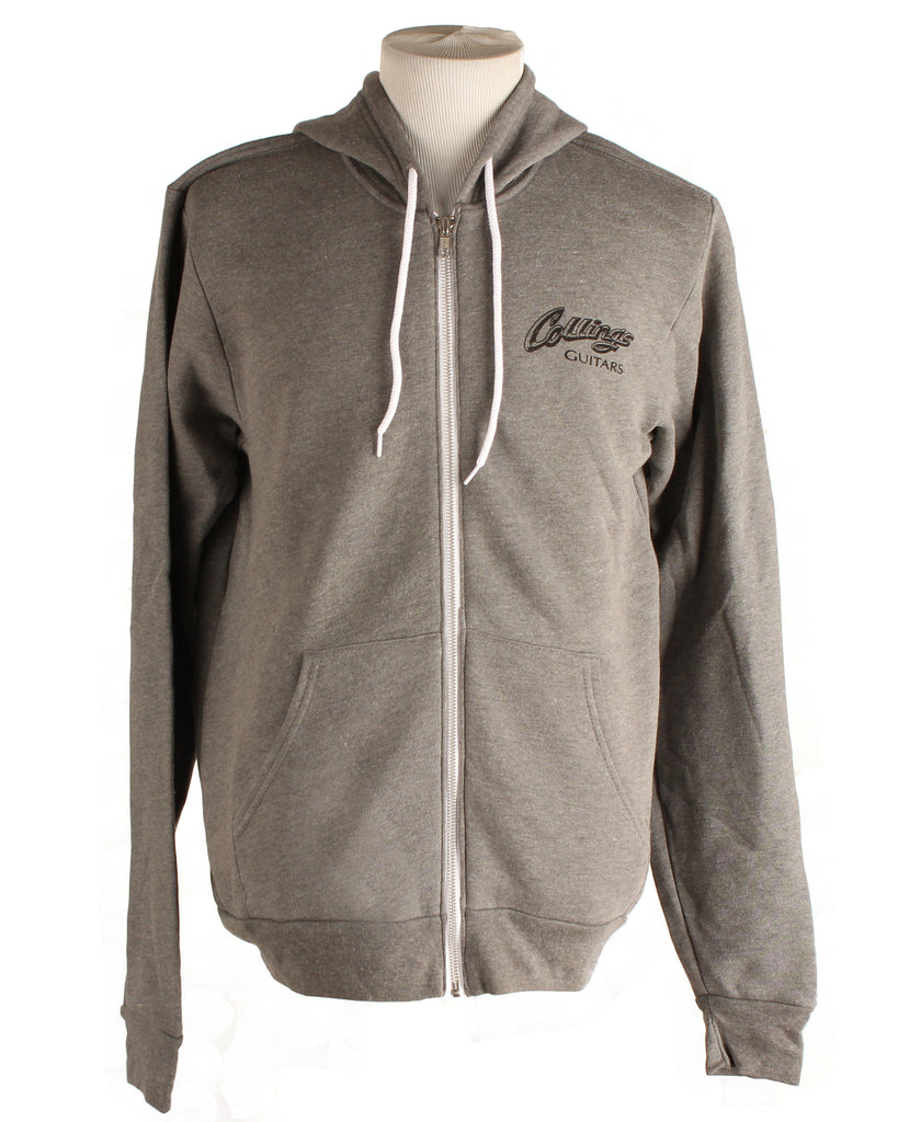 Collings Logo Hoodie Dark Grey Heather