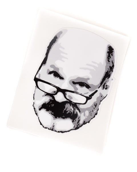 Bill Collings Face Sticker