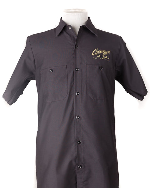 Collings Work Shirt Charcoal