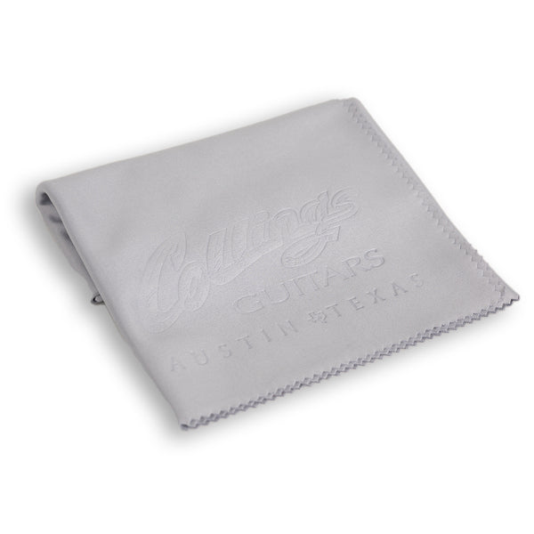 Collings Embossed Microfiber Polish Cloth