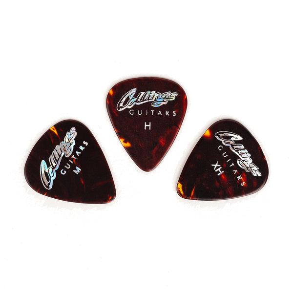 Collings Logo Tortoiseshell Picks