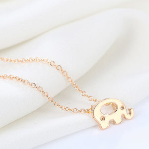 Gratitude Elephant Necklace