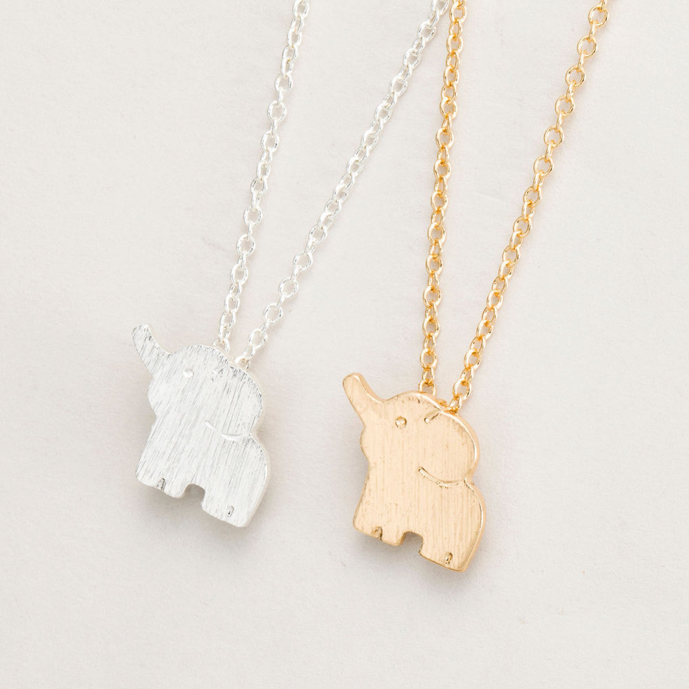 elephant ie jumbo product silver mynamenecklace necklace engraved pendant