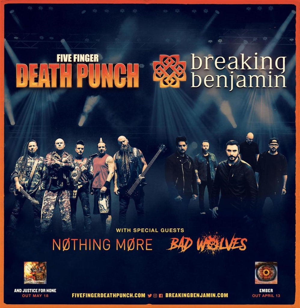 Five Finger Punch Breaking Benjamin Kick Off M Ive U S Arena Fall Tour