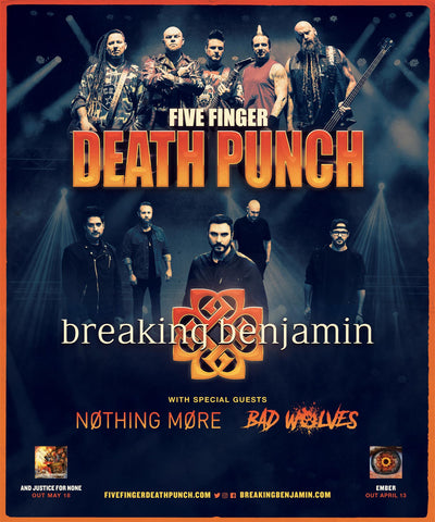 Los Angeles Ca March 13 2018 Today Multi Platinum Hard Rock Band Five Finger Punch Have Announced That They Will Be Releasing Their Highly