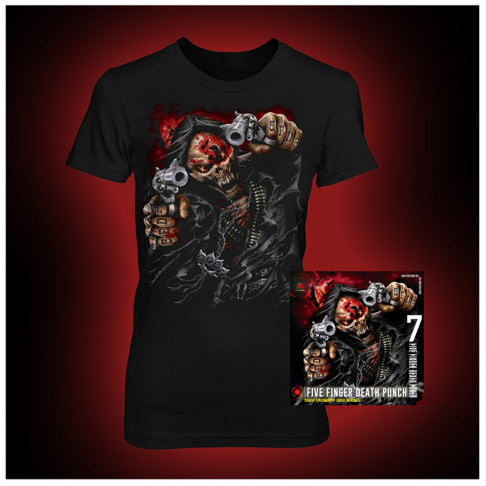 And Justice for None Deluxe CD + Women's Tee Bundle