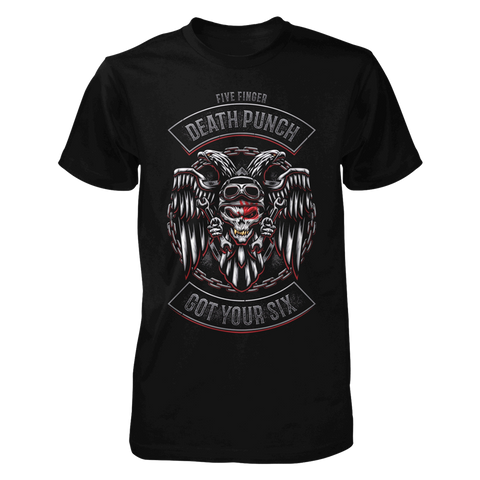 Got Your Six Biker Badge Tee