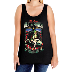 Distressed Bombshell Plus Size Tank