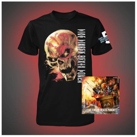 And Justice for None Standard CD  + Tee Bundle