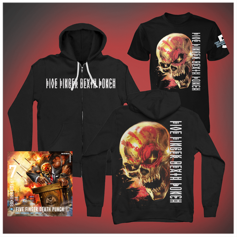 And Justice for None Standard CD + Tee + Hoodie Bundle