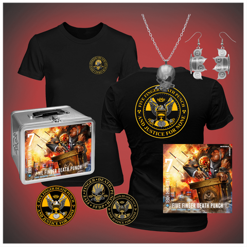 And Justice for None Hers Standard CD Lunchbox Bundle