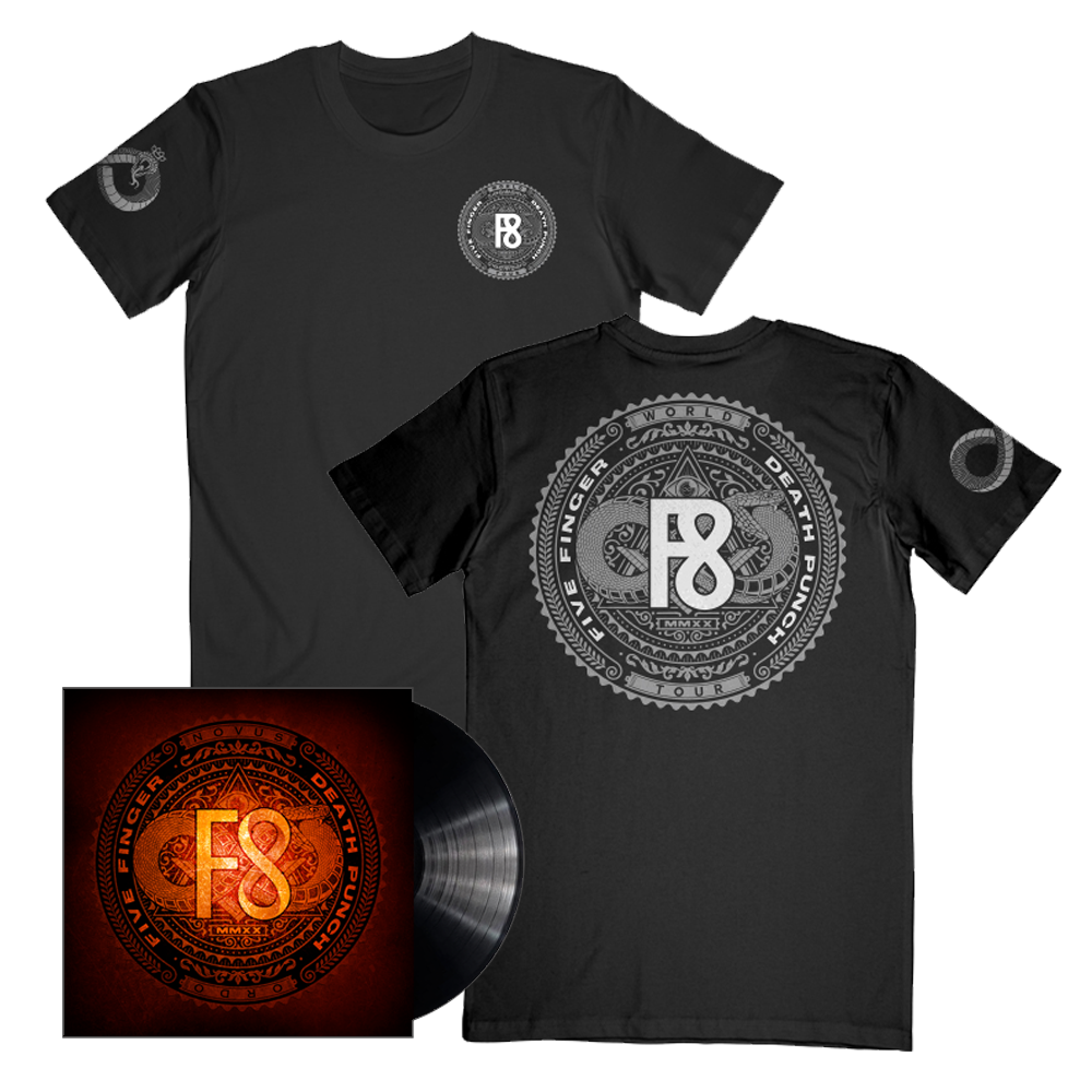 F8 World Tour 2020 Tee + Music Bundle
